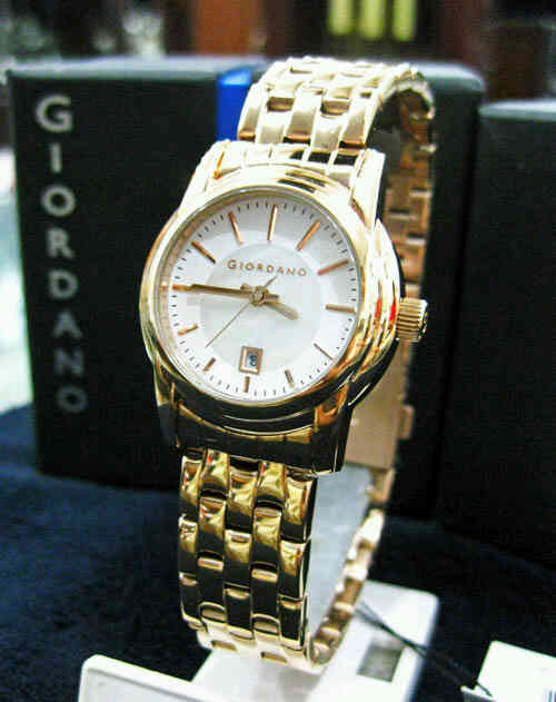 Jam Tangan Giordano 2641 rose gold 600rb