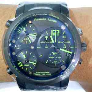 Alexandre Christie AC 6229 All Black AC 6229 GREEN