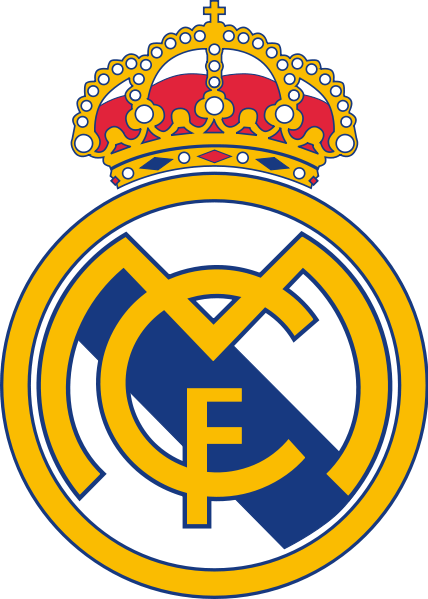 Logo Club Sepak Bola Dunia Real Madrid Logo