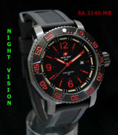 Swiss Army 2146 Red Black Rubber