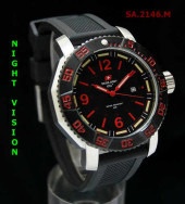 Swiss Army 2146 Red Silver Rubber