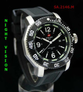 Swiss Army 2146 White Silver Rubber