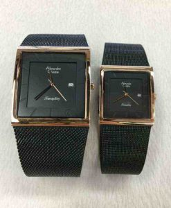 jam tangan alexandre christie couple original