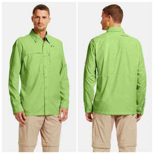 22acdf3f Jual Under Armour Men's Flats Guide Long Sleeve Shirts Original ...