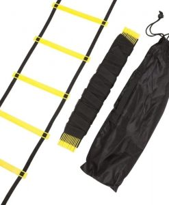 Mitre Original Agility Ladders Adjustable 9M Yellow A3084AYA1 BNWT Murah