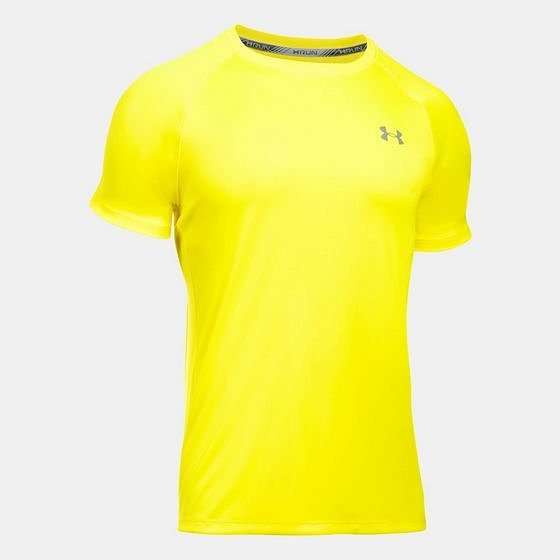 Jual Kaos Under Armour seri HeatGear Run Original Yellow Ray Baru ... 96cd46e762
