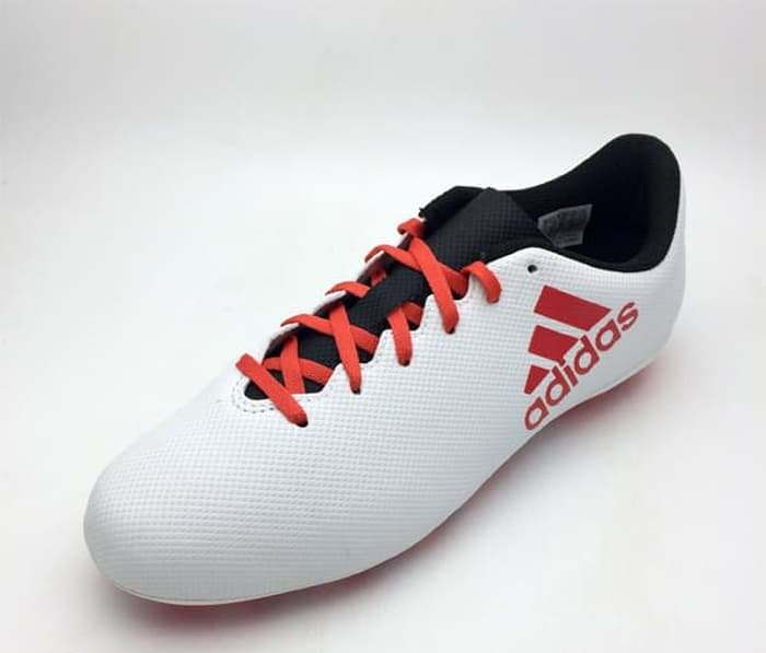 Sepatu Bola Anak Adidas Original X 17.4 FXG Junior White Red CP9015 Murah 0a4dc19c03